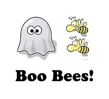 Boo Bees Photographic Print