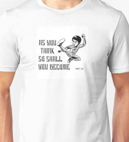 Bruce Lee Quotations  Unisex T-Shirt