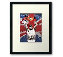 Anthony Joshua IBF World Heavyweight Champion (T-shirt, Phone Case & more)  Framed Print