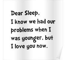 Dear Sleep Poster