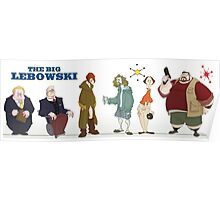 The Big Lebowski - Manga Poster