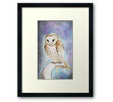 Momma Owl Framed Print