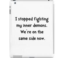 Inner Demons iPad Case/Skin