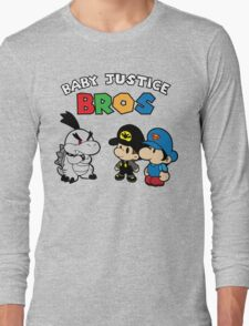 Baby Justice Bros. Long Sleeve T-Shirt