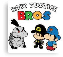 Baby Justice Bros. Canvas Print