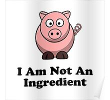 Ingredient Pig Poster
