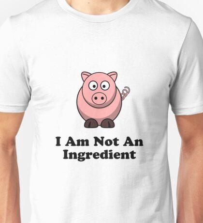 Ingredient Pig Unisex T-Shirt