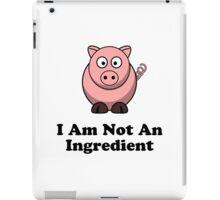 Ingredient Pig iPad Case/Skin