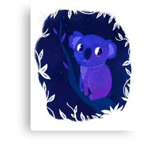 Space Koala Canvas Print