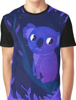 Space Koala Graphic T-Shirt