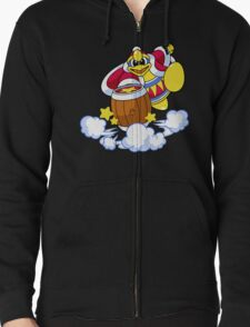 Kirby Super Star Ultra - King Dedede Zipped Hoodie