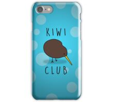 Kiwi Club iPhone Case/Skin