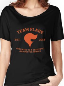 Team Flare Women's Relaxed Fit T-Shirt