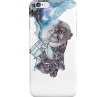 Pipe Smoking Steampunk Primate iPhone Case/Skin