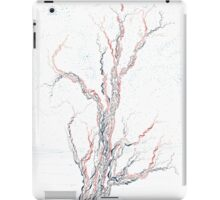 Genetic branches (hand drawn ink on paper) iPad Case/Skin