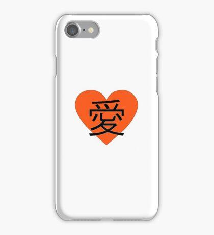 Love Kanji iPhone Case/Skin