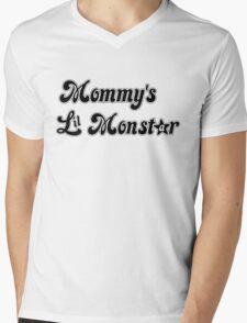 Mommy's Lil MonStar Mens V-Neck T-Shirt