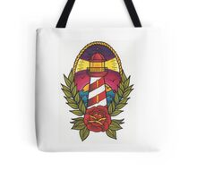 Traditional Tattoo Lighthouse Design.  Tote Bag
