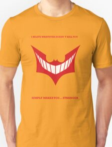 Joker behind Batman T-Shirt