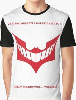Joker behind Batman Graphic T-Shirt