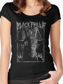 Black Metal Phillip Women's Fitted Scoop T-Shirt