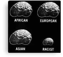 Anti Racism Canvas Print