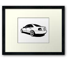 Audi A4 Framed Print