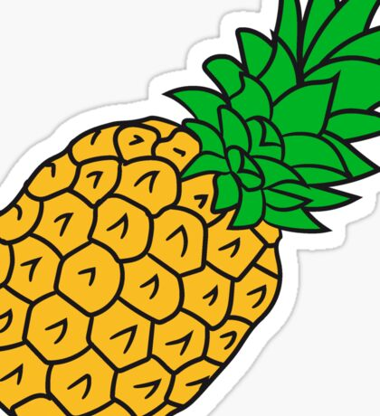 pineapple holidays Eat Well Sticker