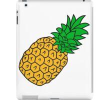 pineapple holidays Eat Well iPad Case/Skin