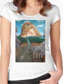 Mother Nature's Demise Women's Fitted Scoop T-Shirt