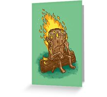 Bad Day Log Greeting Card
