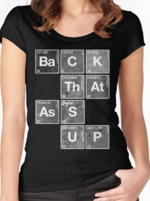 Back That Ass Up Women's Fitted Scoop T-Shirt
