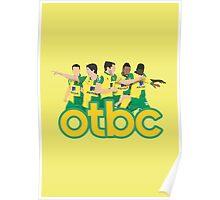 'OTBC' v2 minimalist design Poster