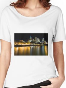 Evenings on the Yarra - Melbourne Australia Women's Relaxed Fit T-Shirt