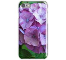 Lágrimas en  una  Hortensia azul............... iPhone Case/Skin