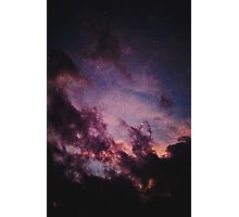 Sky and cloud Photographic Print