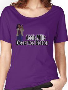 Abbie Mills Deserves Better Women's Relaxed Fit T-Shirt