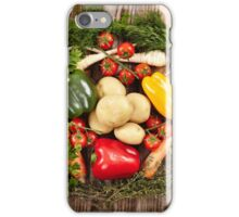 Vegetables and herbs nest arrangement iPhone Case/Skin