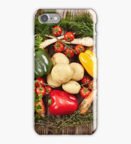 Vegetables and herbs nest arrangement iPhone Case/Skin