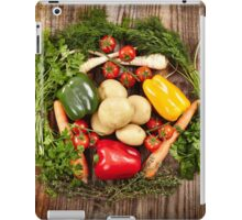 Vegetables and herbs nest arrangement iPad Case/Skin