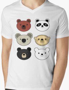 Caniformias Mens V-Neck T-Shirt
