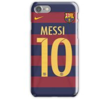 messi, barsa, barcelona, argentina, 10, dorsal, number iPhone Case/Skin