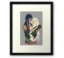 Loving Couple Framed Print