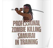 Michonne - The Walking Dead Poster