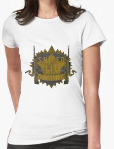 Sniper Elite Gaming Products  Womens Fitted T-Shirt