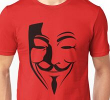 Guy Fawkes - Anonymous Unisex T-Shirt