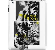 Tigre cuadriculado iPad Case/Skin