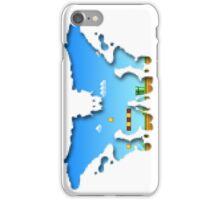 Mario Rorschach 8-bit iPhone Case/Skin