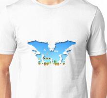 Mario Rorschach 8-bit Unisex T-Shirt