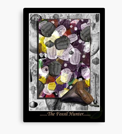 The Fossils Canvas Print